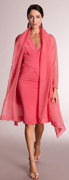 Donna Karan ~love the color nd the lines