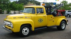 1956 Ford Triple A Tow Truck 1