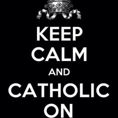 except for the new catechism...