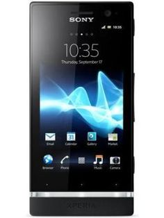 Sony Xperia U available in India for Rs. 16499