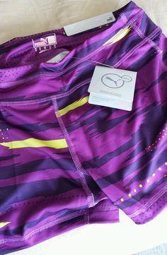 9b49bac756291 Puma Tight Fit Women's Medium Purple/Black Shorts Active Gym Running  Crossfit #PUMA #Shorts - SOLD