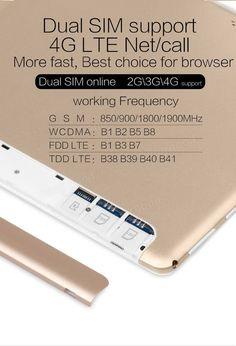 Original Box VOYO Q101 MT6753 Octa Core 10.1 Inch Android 6.0 Dual 4G Tablet PC