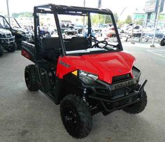 New 2017 Polaris Ranger® 500 ATVs For Sale in Florida. Solar Red 58-inch width and excellent utility value Smooth and reliable 32-horsepower ProStar EFI engine features best in class torque Plush suspension travel and refined cab comfort for 2 creates an excellent ride