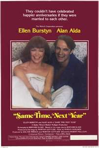 "My favorite movie of all time.... I've seen it at least 15 times. ""Same Time, Next Year"""