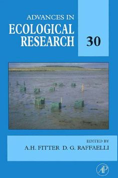 Advances in Ecological Research: 30 by Alastair Fitter. $122.00. Publisher: Academic Press; 1 edition (June 7, 2012). 430 pages