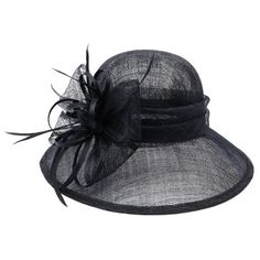 Chapeau Mariage Marine Thing en paille sisal #chapeaumariage #mariage #mode #bonplan #look sur Hatshowroom.com