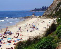 Views Of Dana Point Beach Beaches California Newport