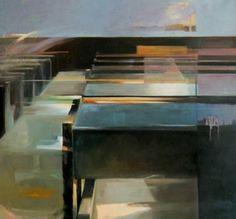 "Saatchi Art Artist Constantin Tanislav; Painting, ""Interior I"" #art"