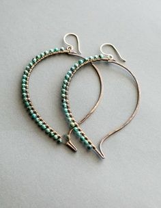 Jewelry by Viki Paisley Turquoise Earrings