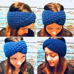 Bulky Crochet Twist Ear Warmer No matter what you call them, ear warmer, head wrap, or headband, these twist ear covers will make the perfect stocking stuffer or secret santa gift. Each one comes with a gift tag and tissue paper, so all you have to do is grab a bag! No more