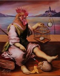 Artist Sylvia Karle Marquet's Animal Society Guinea Pig Toys, Guinea Pig Care, Guinea Pigs, Animal Society, Chicken Art, Animal Jam, Exotic Fish, Warrior Cats, Horse Care