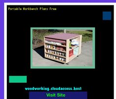 Portable Workbench Plans Free 081715 - Woodworking Plans and Projects!