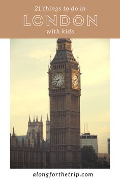 London, England is a fantastic destination to travel with kids and was first on list when we visited Europe. Here's 21 awesome things to do with kids in London. | Family Travel | London with kids.