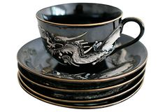 Dragonware Cup My grandmother DiFalco had this set up in her china cabinet