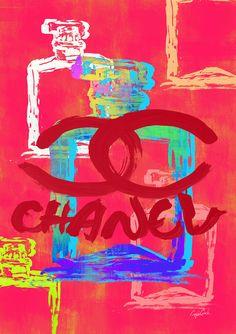 Aesthetic Themes, Retro Aesthetic, Chanel Wallpapers, Artsy Background, Banksy Art, Fashion Artwork, Retro Wallpaper, Hippie Art, Photo Wall Collage