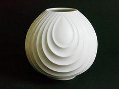 Scherzer Bavaria Germany, white porcelain vase