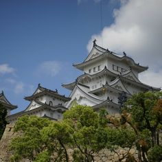 Himeji Castle is the most visited castle in Japan and a UNESCO World Heritage Site.