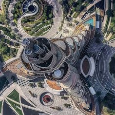 SWIPE LEFT!! Burj Khalifa Park by SWA Group. Located in Dubai, UAE. The park uses materials and design to create a landscape that establishes spaces that are both grand and intimate, soft and hard, interconnected and individual.