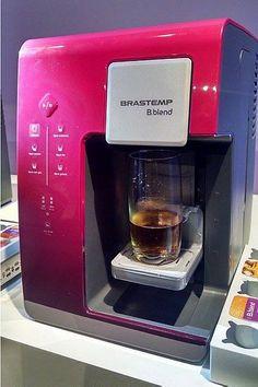 Brastemp lança máquina doméstica de bebidas em cápsulas