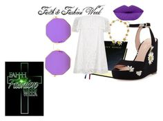 """faith fashion week"" by faithfashionweek on Polyvore featuring Dolce&Gabbana, Kate Spade and River Island"
