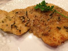 Baked Turkey Cutlet Parmesan - fabulous, quick, easy, tasty way to prepare turkey cutlets or chicken breasts