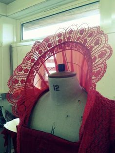 how to make an elizabethan collar | Rachael's costumes: Elizabethan Collar RED QUEEN