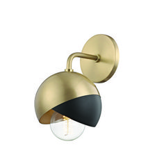 Sliced Globe Sconce