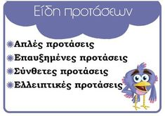Grammar - ΠΡΩΤΟ ΚΟΥΔΟΥΝΙ Letter Activities, Educational Activities, Grammar Posters, Greek Language, English Words, Kids Learning, Family Guy, Teacher, Lettering