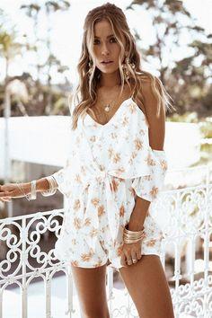 8f451873712b Silky Blossom Playsuit  SABOSKIRT Fashion 101