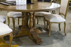 Balluster Dining Table