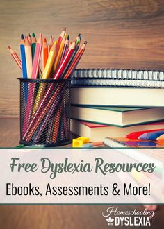 Free Dyslexia Resources | Homeschooling with Dyslexia