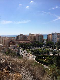#malaga #spain Malaga Spain, San Francisco Skyline, Travel, Viajes, Trips, Traveling, Tourism, Vacations