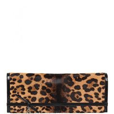 Gucci Leather Jaguar Print Clutch Bag ($930) ❤ liked on Polyvore featuring bags, handbags, clutches, clutches / wallets / purses, real leather purses, leather clutches, genuine leather handbags, leather purse and print handbags