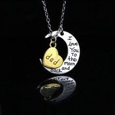 "I Love You"""" Series Pendant Silver Necklace"