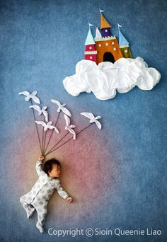寝ている赤ちゃんで描かれた可愛すぎるアート | IDEA HACK