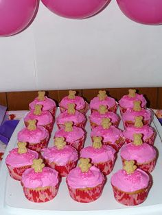 Food for the Breakfast Club baby shower  #baby-shower #babyshower #cupcakes