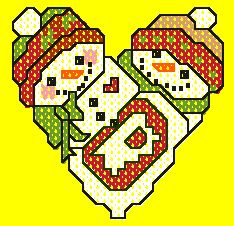 Free Christmas Cross-Stitch Patterns (mostly small ones).