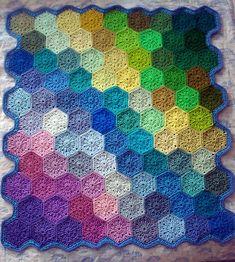 Ravelry: pookybeast's Hexagon Pile