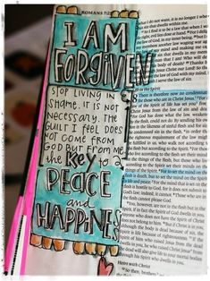 Romans 8 - I am forgiven [credit to Stephanie Ackerman]