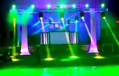 DJ SHOW MCALLEN ( show de luces tipo concierto.. luces BEAM @ luxor banq...