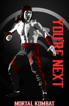 Liu Kang You're Next by KalekronReborn on DeviantArt Mortal Kombat Fight, Mortal Kombat Video Game, Liu Kang, Mortal Kombat Shaolin Monks, Mortal Kombat Ultimate, Kung Lao, Claude Van Damme, Arte Peculiar, You're Next
