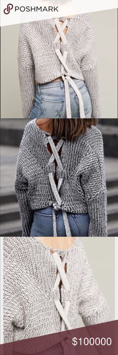 COMING SOON!!!! STYLESTALKER Hart Cropped Sweater This is one amazing piece! Details Coming tomorrow Stylestalker Sweaters