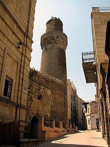 -Walled City of Baku with the Shirvanshah's Palace and Maiden Tower (UNESCO) - Baku, Azerbaijan..