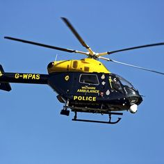 G-WPAS - Wiltshire Police/Air Ambulance MD902 Explorer