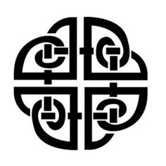 The Celtic shield is often used to ward off evil spirits, and also for protection. Many people across the world have received tattoos or talismans of this object so that they can do this. Usually in this symbol it is always square, possibly to represent the 4 elements, earth, air, fire, and water. Sometimes in Celtic artwork you will see this symbol drawn in more detail with many more knots or more complex. This is easily seen throughout ancient Mesopotamia.: