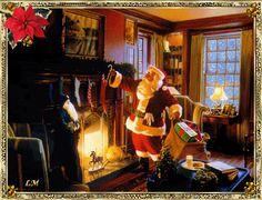 Twas The Night Before Christmas - Desktop Nexus Wallpapers Christmas Desktop, Merry Christmas To All, The Night Before Christmas, Christmas Music, Santa Christmas, Christmas Greeting Cards, Christmas Carol, Christmas Movies, Christmas Pictures