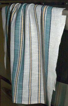 Loom Weaving, Hand Weaving, Art Textile, Weaving Projects, Weaving Patterns, Weaving Techniques, Tea Towels, Dish Towels, Clothing Patterns