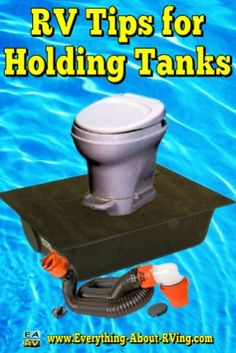 RV Tips for Holding Tanks: Your RV has what is referred to as a gray water holding tank and a black water holding tank... Read More: http://www.everything-about-rving.com/rv-tips-1.html Happy RVing! #rving #rv #camping #leisure #outdoors