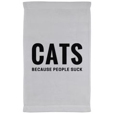 Cats Because People Suck Kitchen Towel - 11 x 18 Inch – Rebel Style Shop Cat 286a619d55
