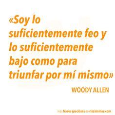Frase graciosa de Woody Allen